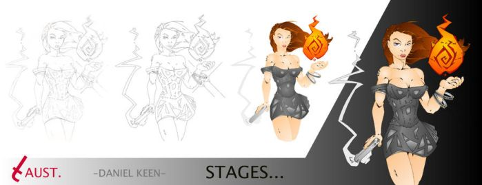 Stages... by Daniel-Keen