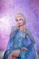 Elsa the Snow Queen of Arendelle by adelhaid