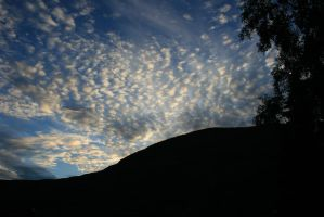 The Cotton sky in Norway by Lizzimoa