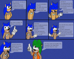 Idea: let's request a revamp of Sonic Underground by Colliequest
