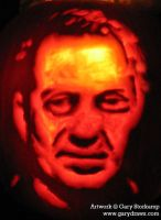 Steve Buscemi - The Pumpkin? by GaryStorkamp
