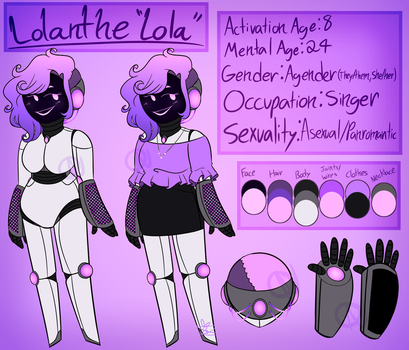 Lolanthe the Robot by DCDr34m3r