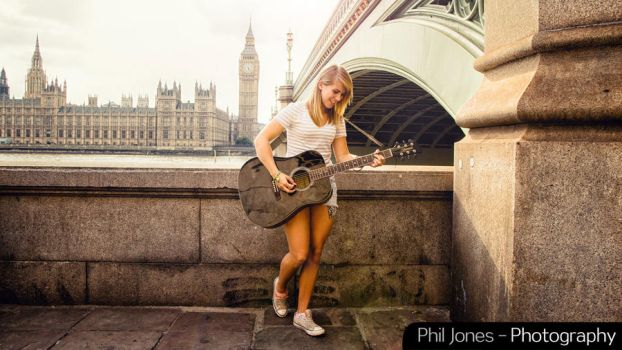 Brunswick Guitar photoshoot by PhilJonesPhotography