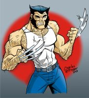 Wolverine colored by CharlesEttinger