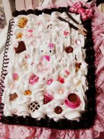 Hello Kitty Deco notebook by Lustfulwish