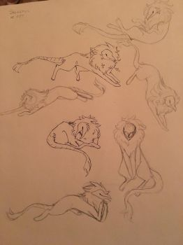 More sketches by vixria