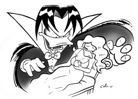 Count Duckula by ChibiCelina