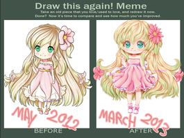 Draw This Again Meme -spring- by sTiViA