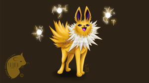 PFC : Day #5 : Favorite Eeveelution by Pathea