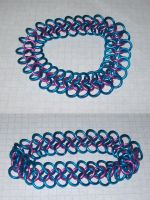 thin 4-in-1 -pink n turquoise by BardicKitty