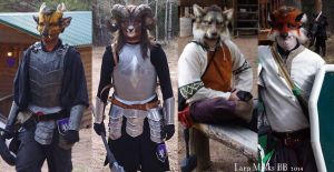 LARP MASKS by Magpieb0nes
