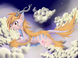 Prancing Through the Clouds :C.E: by Garchompdra