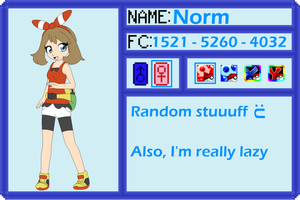Trainer Application thingy by DreamyNormy