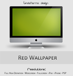 Red Wallpaper by TindaNarmo