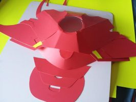 Iron Man Suit WIP by leafeon-ex