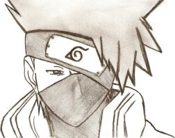 Sad Kakashi by Sorceress2000