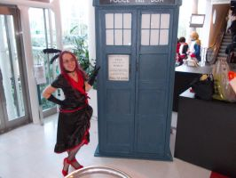 Grell and Tardis by Winxhelina
