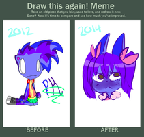 Improvement meme - Princess Kit by qioqos