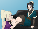 ReQuest - Ino and Haku by DrkNite007