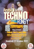 Rongy Techno Festival - Flyer by WalidGFX