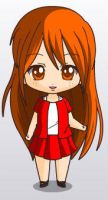Miss Martain Chibi Human Form. by youngjusticewriter