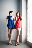 red blue by Rlew