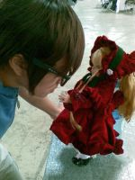 Jun Sakurada y Shinku Doll by Deirian
