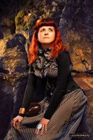 Steampunk photoshoot in Montreal I by Verope