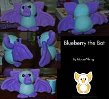 Blueberry the Bat by MoonWhing