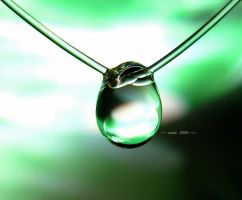necklace by a droplet 4 by sinanTR