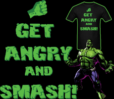 The Hulk Get Angry And Smash T Shirt by Enlightenup23