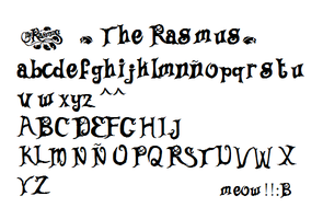 TR font by Kissa-TR