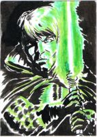 61 Dark Empire Luke Skywalker by SirGryphon