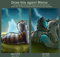 Redraw: Heaven and dreams and whatnot by SpitfiresOnIce
