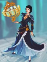 My character as an astrologian by nfouque
