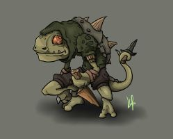 Lizard Rogue by Vanguardias
