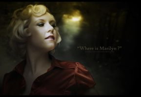 Where is Marilyn ? by Doucesse