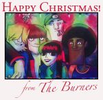 Burner Christmas Card by Moth-Eaten-Heart