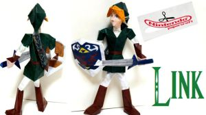 Super Smash Bros. Link Papercraft by TheSkywardSword100