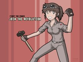 Join the Revolution by Usagisama