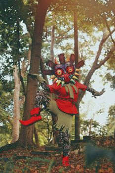 The Skull Kid -Majora's Mask by caroangulito