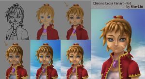 Chrono Cross fanart - Kid (Step By Step) by Mee-Lin