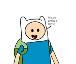 Finn talks about Adventure Time movie by SuperMarcosLucky96