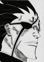 Kenpachi Zaraki from bleach (manga version) by Acey-kakarot-michael