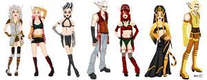 TF: Character Set Two by Ashuri