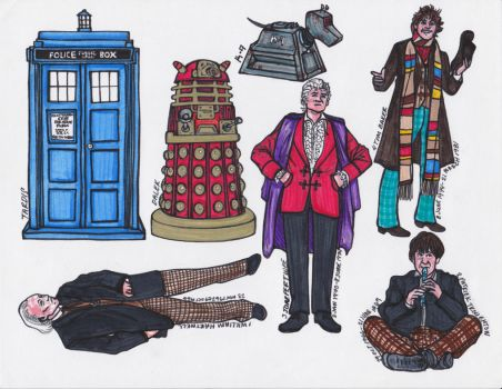 .Doctor Set One. by CheshireSmile