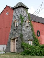 Strange Cone House 1 by FairieGoodMother
