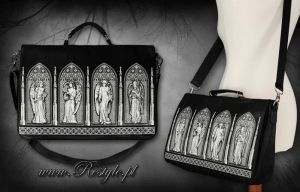 Gothic Windows Bag by Euflonica