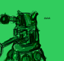 dalek en verde by gamesluis