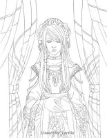 Thera Lineart by Luvelia
